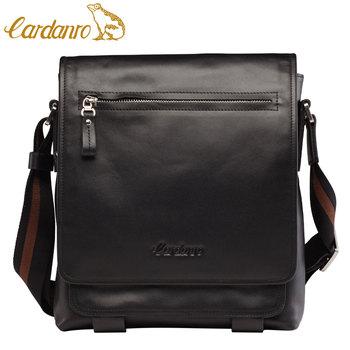 Hot-selling  man bag first layer of cowhide business casual shoulder bag messenger bag flip