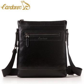 man bag first layer of cowhide commercial casual shoulder bag messenger bag