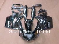 2013 Brand new  Fairing kit for Kawasaki ZZR 1100 1993-2003  ZZR 1100D 93 94 95 96 97 98 01 02 03 ZZR1100 All gloss Black