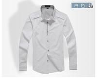 100% cotton men shirt, free shipping