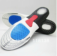 3pairs/lot Orthotic Arch Support Shoe Pad Sport Running Gel Insoles Insert Cushion Unisex , Free Shipping