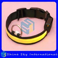 2 Pcs/lot Free Shipping Flashing Dog Collar Led Pet Light Collar High Quality Pet Products