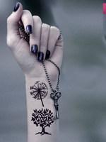 Big tree tattoo stickers fashion waterproof