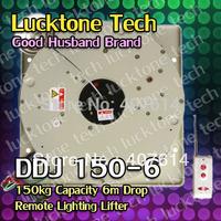Chandelier Lifter Lighting Hoist Remote-controlled Lighting Lifter Light Lift DDJ150-6 (150kg Capability 6m drop 110--240V)