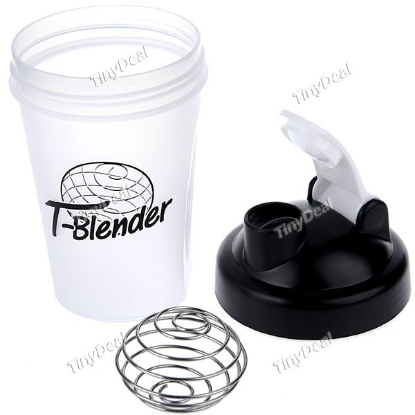 Shaker Bottle Blender Bottle with Stainless Mixer with blending ball blender bottle protein shaker custom logo shaker bottle(China (Mainland))