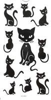 New arrival tattoo stickers waterproof sexy kitten small ht1093