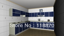 Custom Made Morden Design MDF Kitchen Furniture KV-M002(China (Mainland))