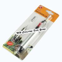 Mini Portable Silver Cordless Butane Gas Soldering Welding Iron Pen