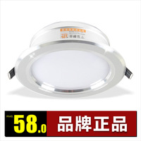 9 led anti-fog downlight ,led lighting full set 9w super bright