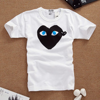 free shipping 2013 hot new summer lovers 100% T-shirt cotton short-sleeve tee
