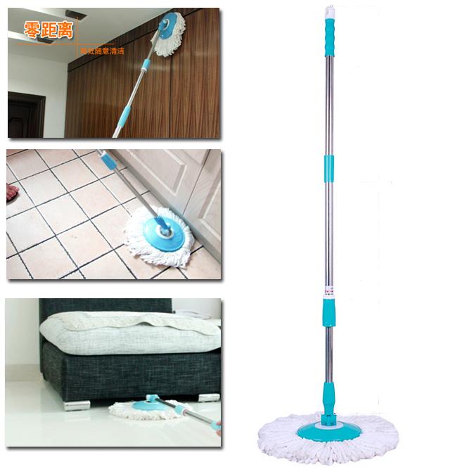 Easy mop jin pin ultrafine fiber rod squeeze mop(China (Mainland))