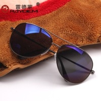 2013 sunglasses male sunglasses large sunglasses anti-uv blue film sun glasses