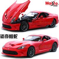 free shipping 2013 dodge viper srt 1 24 alloy car model gift