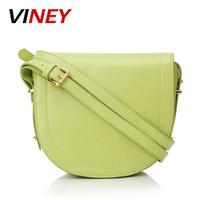 Viney2013 vintage messenger bag messenger bag candy color women's cowhide handbag small bag