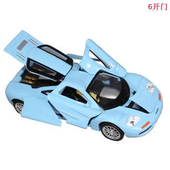 free shipping The door ! acoustooptical WARRIOR alloy sports car sedan alloy car mold