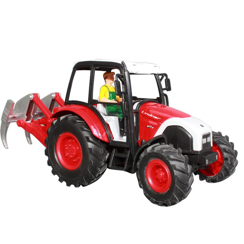 free shipping ETAM 0233 farm tractor bulldozer mining machine alloy tractors model toy car