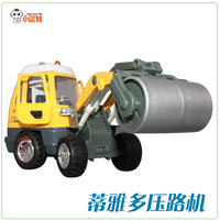 free shipping Engineering car road roller alloy car model toy car alloy car