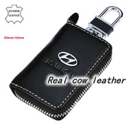 car Logo Leahter Car Key Case For HYUNDAI ix35 ROHENS-Coupe sonata elantra H-1