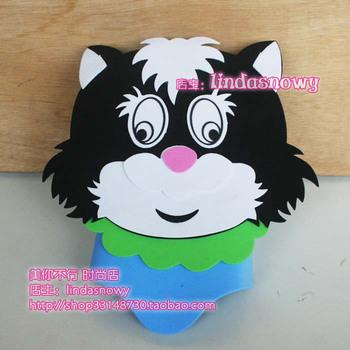 Kindergarten toy animal style hair accessory animal hat child small cat hat hair accessory