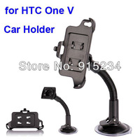 Promotion Windshield Mount Car Mount Holder Portable for HTC One V Free Shipping