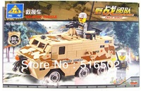 Enlighten Child Rescue cars 84026 KAZI military brick,building block sets,toy blocks plastic educational building free Shipping