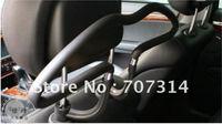 Free Shipping 2PCS/LOT Car Seat Coat Suit Hanger Black Car Auto Headrest Coat Jacket Suit Clothes Hanger