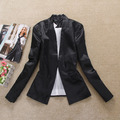 2013 women&#39;s spring fashion satin fashion small suit ,free shipping