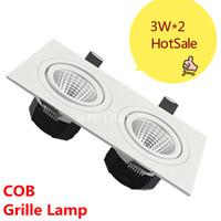 3W*2 LED COB LIGHT Grille Lamp ceiling lamp