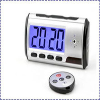 Free Shipping 480P Clock Hidden Kamera Camera  ,Clock Video,Clock dvr,DVR USB Motion Alarm mini camera Digital V5