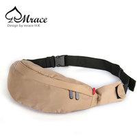 Trend man bag outside sport small bag waist pack chest pack male women's handbag travel casual messenger bag