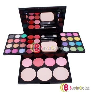 Pro 39 Makeup Cosmetic Palette Eyeshadow Lip Blush Powder Foundation Kit Combo [31360|01|01]
