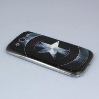 Captain America Battery Door Back Cover For Samsung Galaxy S3 i9300