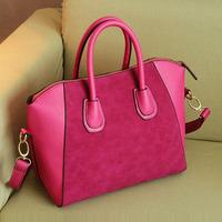 Vintage 2013 scrub smiley bag handbag messenger bag female bags