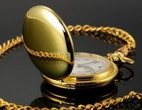 Free shipping Quartz Antique  Pocket Watches Necklace Best Gift