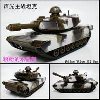 WARRIOR acoustooptical military alloy model toy green