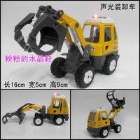 Engineering car alloy car model toy WARRIOR car plain addenda
