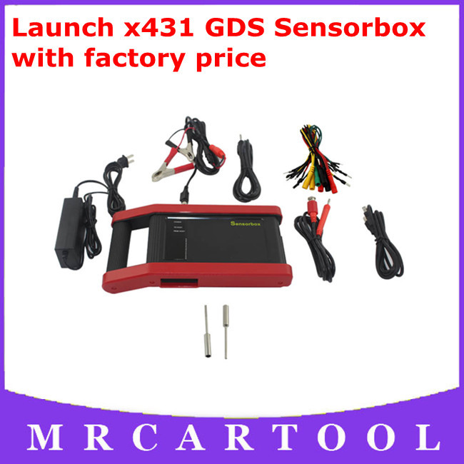 DHL Free Shipping 2013 100% original Launch x431 GDS Sensorbox Automotive sensor simulation and multimeter test function GDS(Hong Kong)
