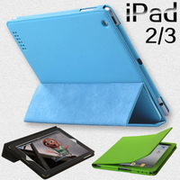 For apple ipda 2 ipd2 3 for ipad new for ipad leather protective case scrub sets