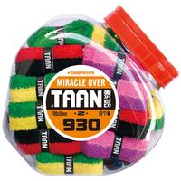 Free shipping Anti-slip 10 Pcs/Lot Taan Tennis Badminton Squash Racket Double Colour Towel Over Grips Tape EDStore_OG05