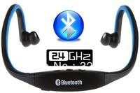 Free Shipping Fashion Sports Wireless Bluetooth Headset Earphone Headphone Earphone for Telehone PC Accessories
