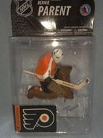 free shipping NHL Mcfarlane nhl19 hockey puck bernie parent 1 jersey orange