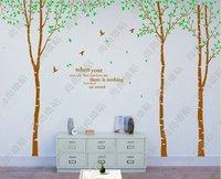 Wall stickers birch tree