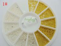 Big Discount!1pcs/set  Nail Art Rhinestones Glitter Tip Gems WheelFree Shipping Free Shipping!#1