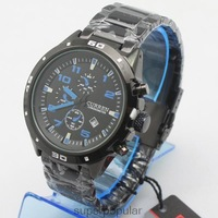 CURREN brand new luxury steel man watch fashion analog sport quartz blue dial watch for men Stainless STEEL WRIST WATCH Freeship