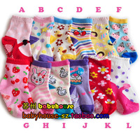 Child non-slip socks  baby cotton socks female child socks 1 - 3 years old