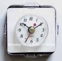 new sliver bezel wall clock  plastic insert clock part art clock clock head   watch movement37mm Arabic number 5pcs/lot