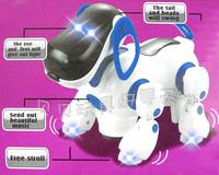 Hot sale Space dog child electric toy puzzle - infant music luminous