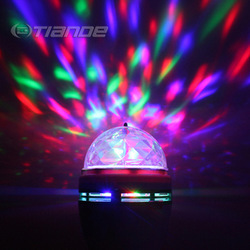 Cheapest Christmas gift colourful cloudy led stage ligthing/led bulb Free shipping(China (Mainland))