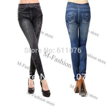 Girls Super Skinny Jeans : Distressed Denim & Knit - Shop