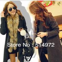Best selling!!New turn-down collar women sweater coat solid ladies cardigan jacket black female garment free shipping